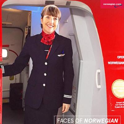 Faces Of Norwegian: Beate Vinkler Rasmussen