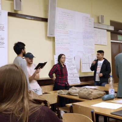 Masterstudierende der TH Wildau beim internationalen Workshop für Strategisches Management in Poznań/Polen