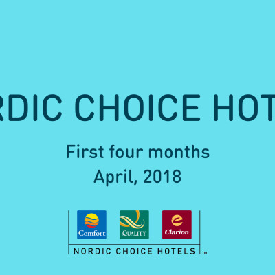 Första tertialrapport Nordic Choice Hotels 2018.