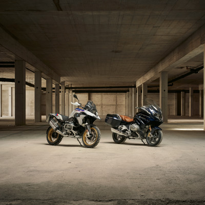 Her er nye BMW R 1250 GS og nye BMW R 1250 RT