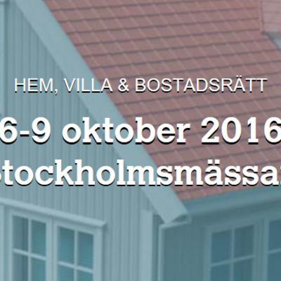 Villavisning i VR på Hem- och villamässan i Stockholm