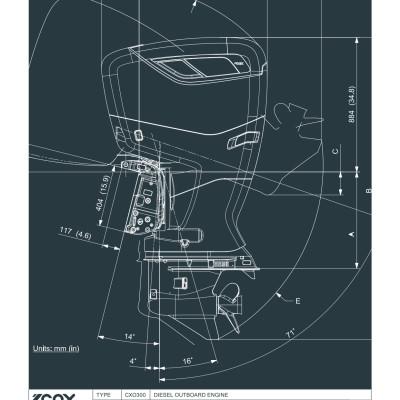 Technical specification - Cox Powertrain - CXO300