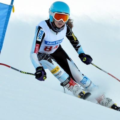 Äldre junior SM och FIS tävling i Skicross på Idre Fjäll