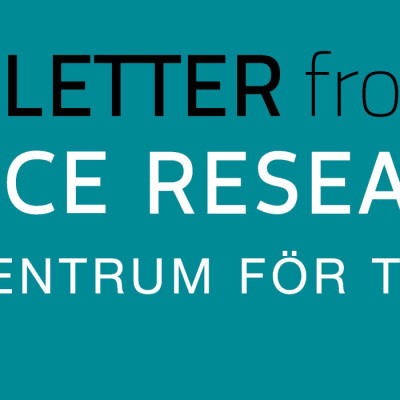 CTF Newsletter no 3, 2018, from CTF, Service Research Center at Karlstad University, Sweden