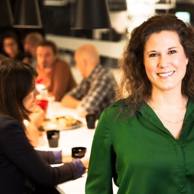 Tina Sörqvist, HR-chef hos Mynewsdesk