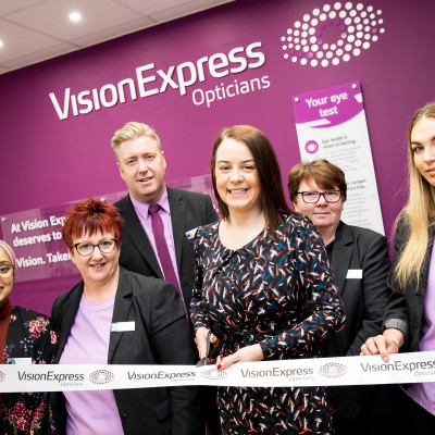 Local MP Stephanie Peacock officially opens new Barnsley optical store