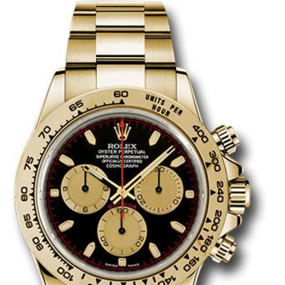 Image of the Rolex watch stolen