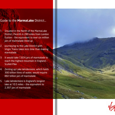 "Virgin Trains' Guide to the ""MarmaLake"" District"