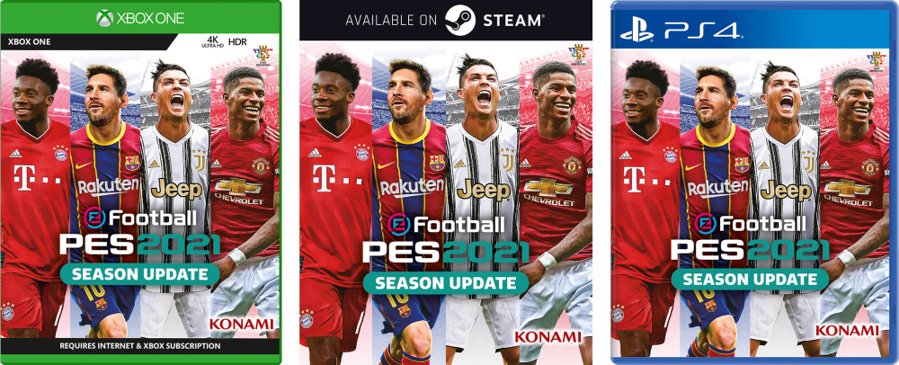Final Cover Revealed For Efootball Pes 2021 Season Update Bastion
