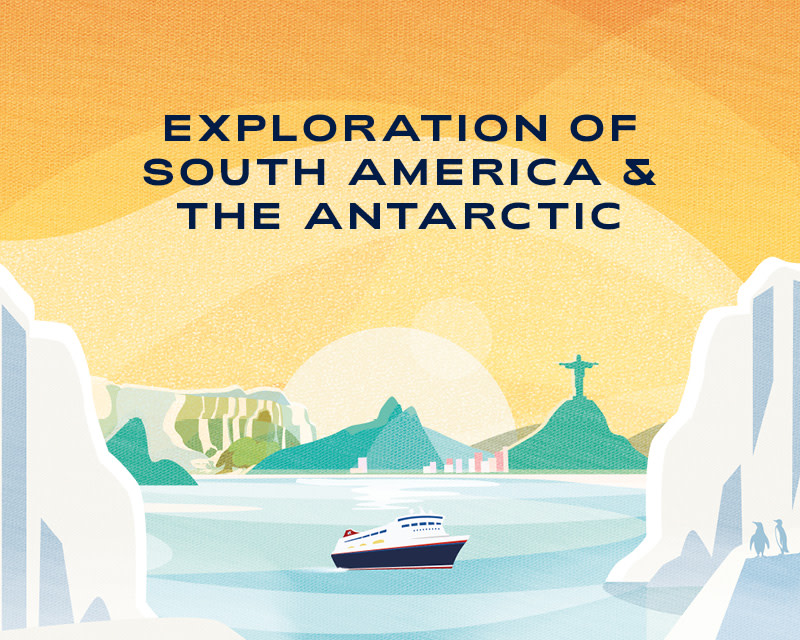 Fred. Olsen Cruise Lines unveils new South American & Antarctica Grand Voyage in 2023 (July 2021)