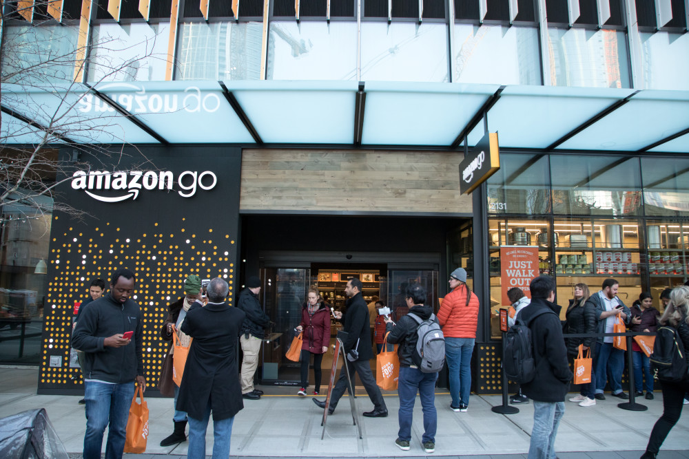 An Amazon store in Seattle, USA