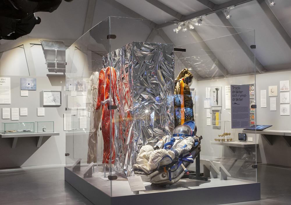 Tekniska öppnar – digital pressvisning av nya utställningarna Moving to Mars och Antropocen 1