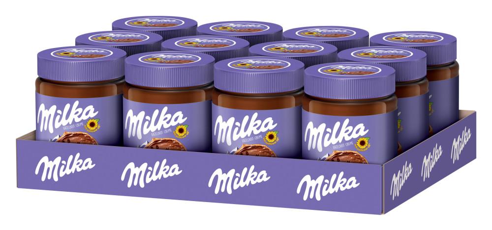 Milka lískooříšková pomazánka