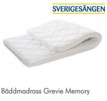 Sverigesängen bäddmadrass Grevie Memory