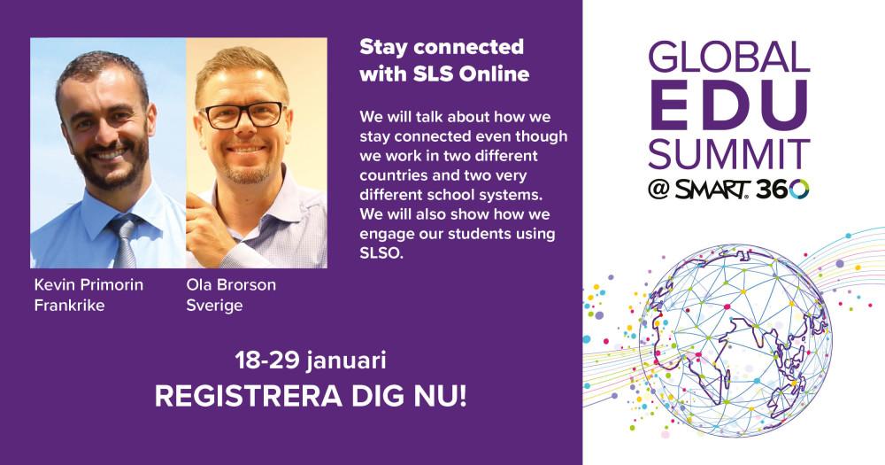Inspireras av hur andra lärare jobbar med SMART på Global EDU Summit! 8