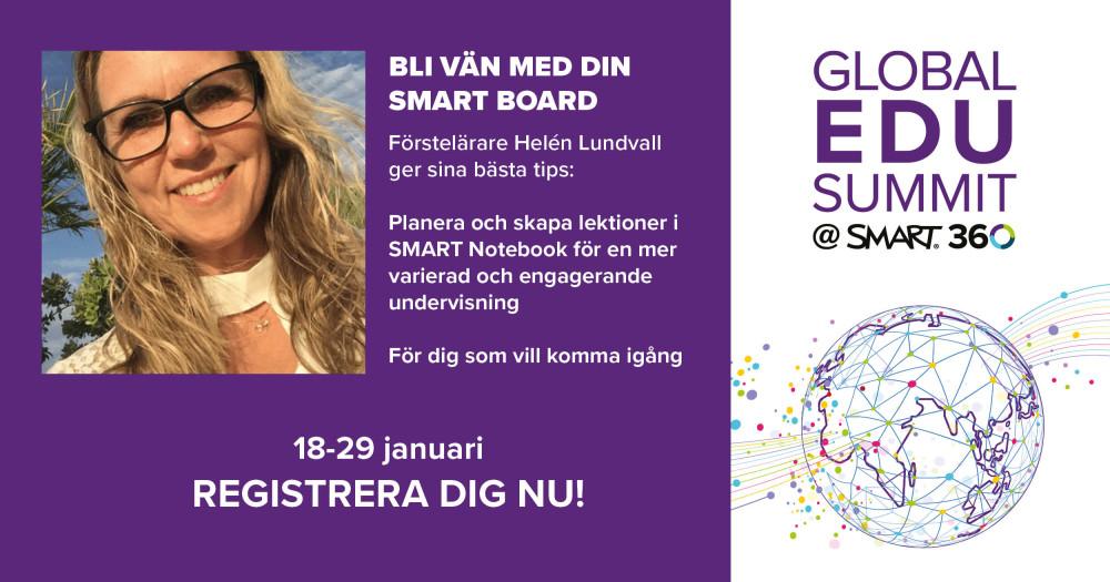 Inspireras av hur andra lärare jobbar med SMART på Global EDU Summit! 6