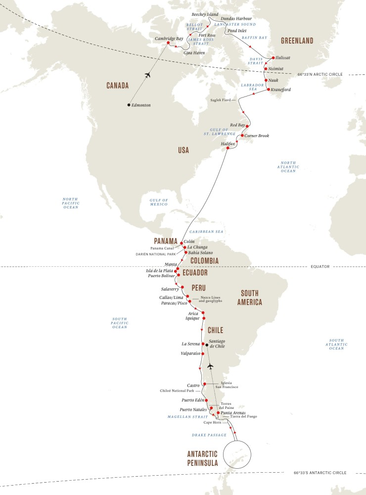Hurtigruten Expeditions Launches Epic Pole-to-Pole Expedition Cruises   20