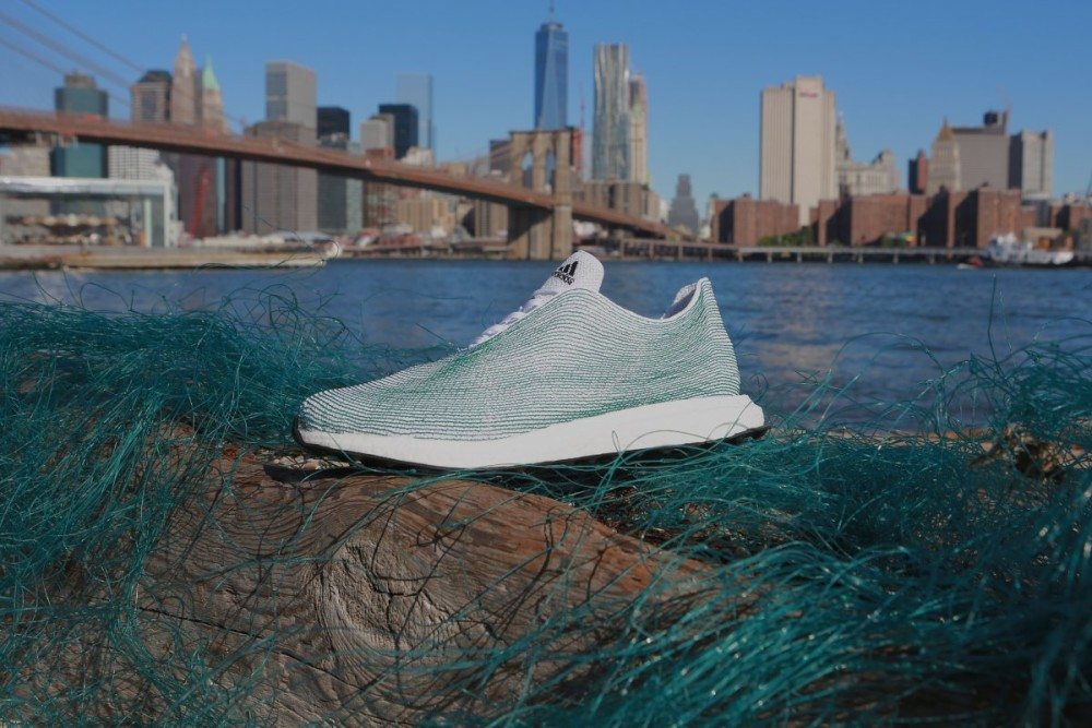 Adidas has sold one million shoes made from recycled ocean