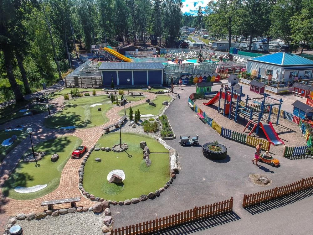 Ursand Resort - En af de 5-stjernede campingpladser i Sverige (Foto: Ursand Resort)