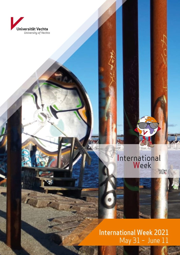 Printprogramm der Internationalen Wochen 2021 an der Universität Vechta