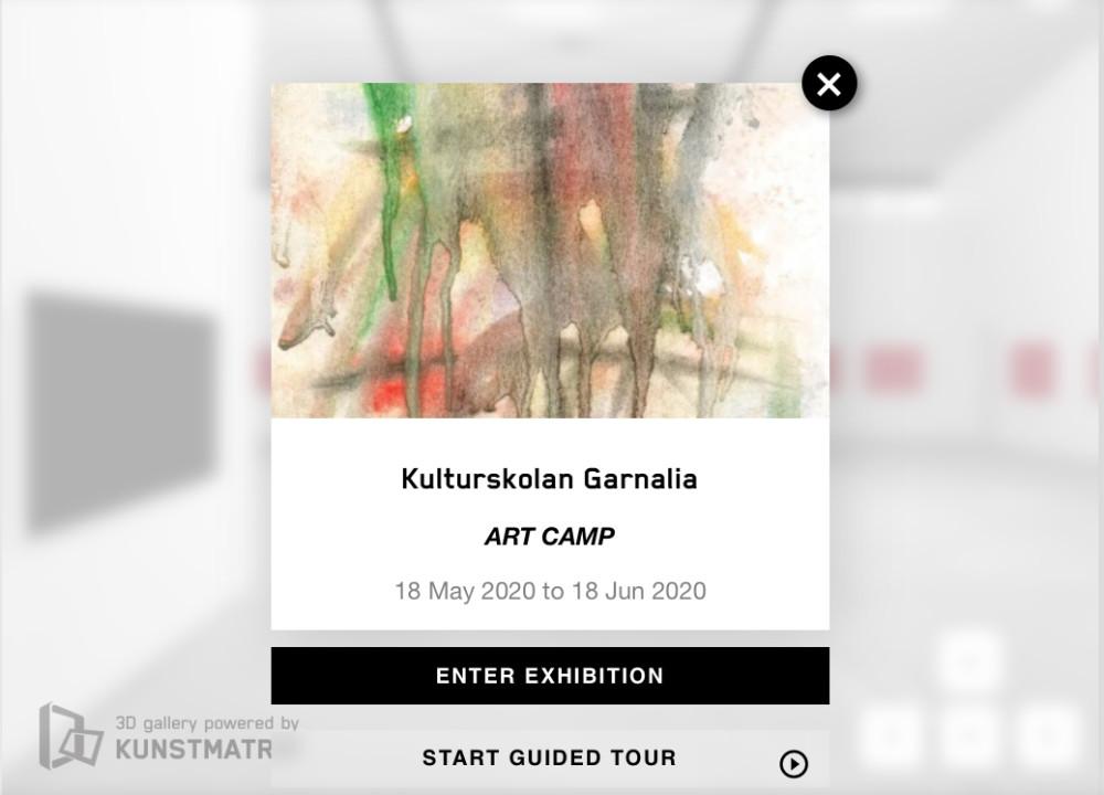 Kulturskolan Garnalia: Dags igen för Art Camp 2