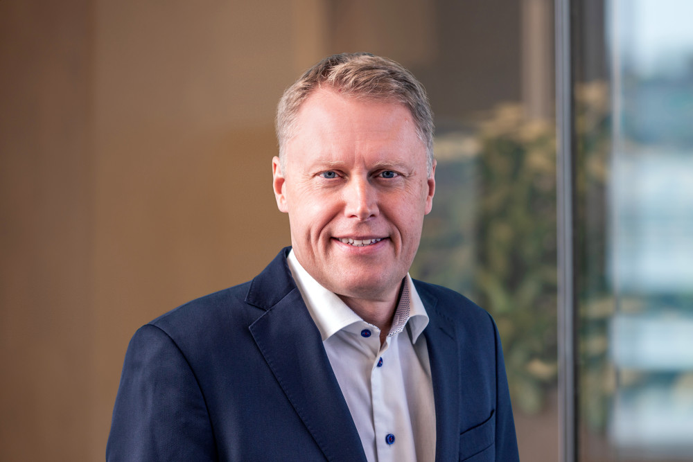 Johan Landfors, Executive Vice President and President Technology Solutions and Europe
