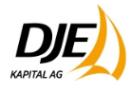 Go to DJE Kapital AG's Newsroom