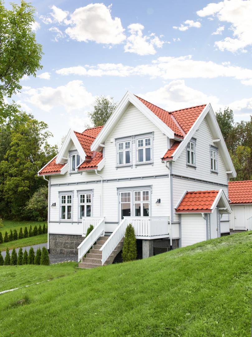 Välj rätt vit kulör till fasaden - Happy Homes 38b90990c1378