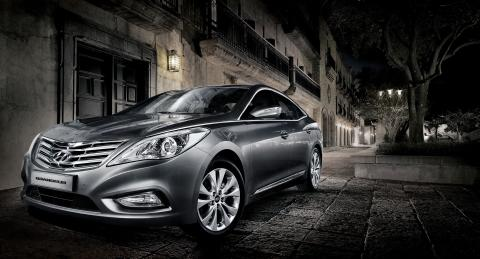 Hyundai lanserer ny Grandeur