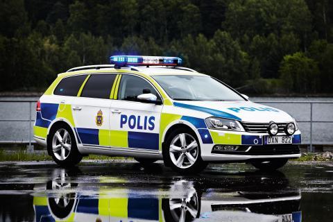 Volkswagen nylanserar efterlängtad polisbil