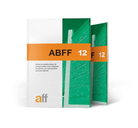 Nyheter i ABFF 12: Ny struktur, regler för kvalitet och miljö och förslag till tvistlösning