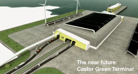 Zero-emission Concept Terminal Launches World Tour
