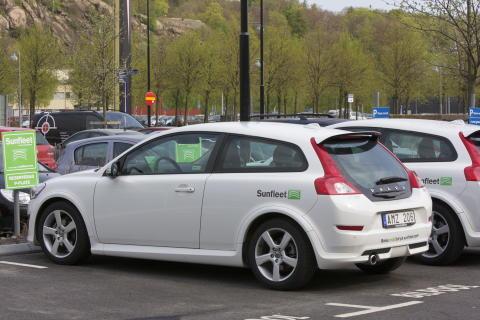Sunfleet öppnar bilpool i Sundsvall!