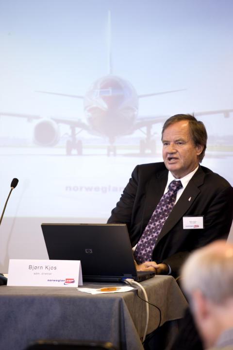 Bjørn Kjos København november 2009