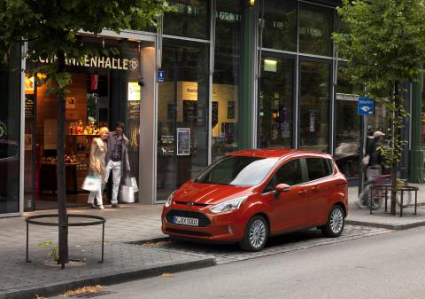 Nye Ford B-MAX lanseres i Norge i høst.
