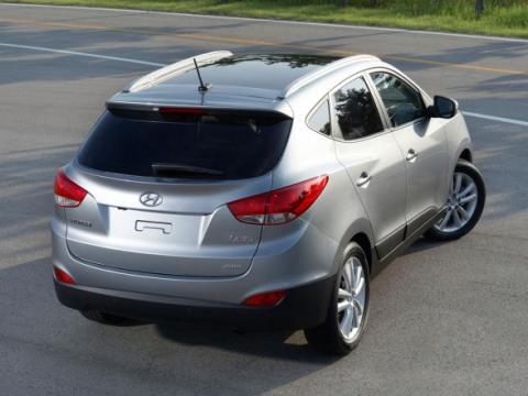 Hyundai ix35 (rear)