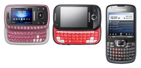 Messa snabbt med Samsungs nya trio