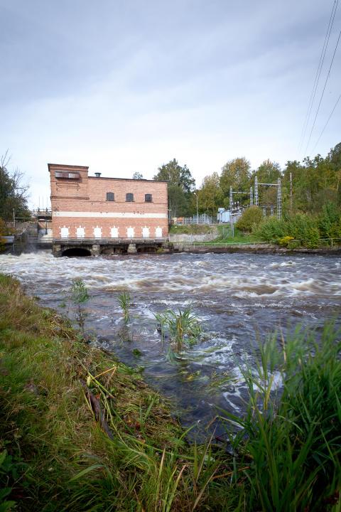 Öresundskraft säljer Fridafors kraftstation till Watten i Sverige AB