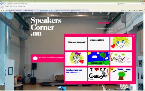 Stadsbiblioteket i Malmö: Speaker's Corner – kom och säg din mening!