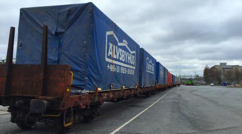Älvsbyhus och Green Cargo