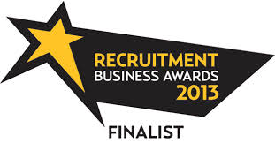 Finegreen finalists at the Recruitment Business Awards