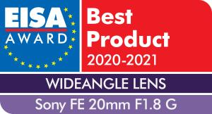 EISA-Award-Sony-FE-20mm-F1