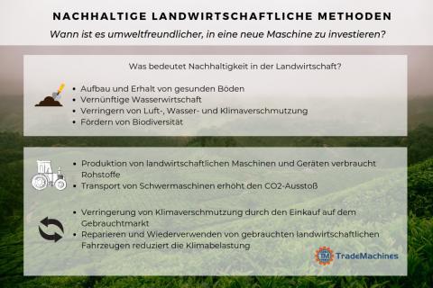 Nachhaltige landwirtschaftliche Methoden