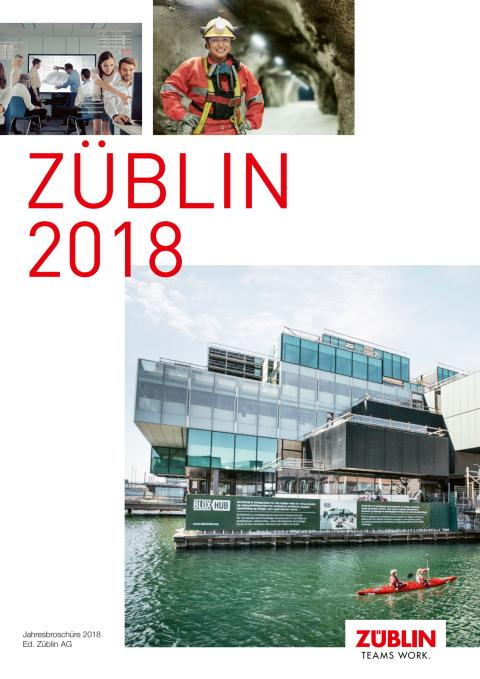 ZÜBLIN-Jahresbroschüre 2018