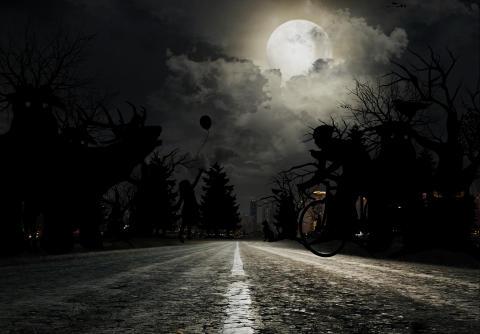 Åtte av ti redd for å kjøre i mørket