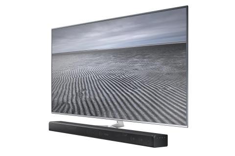 Samsung lanserar soundbar med Dolby Atmos®-teknik
