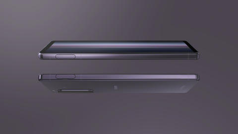 Xperia 1 II Purple_Design double