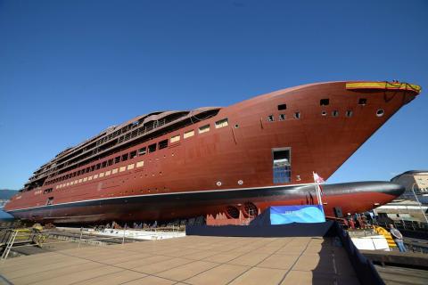 The Ritz-Carlton Yacht Collection Splashdown ceremony