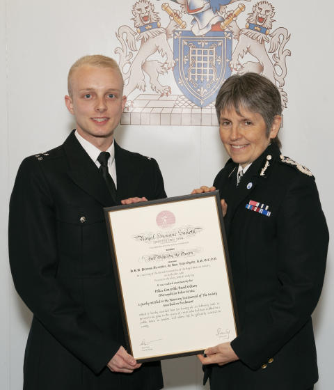 Commendations - PC David Gibson