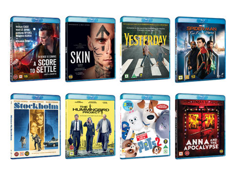 New titles in November from Universal Sony Pictures Home Entertainment